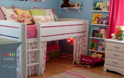 طراحی اتاق کوچک کودک