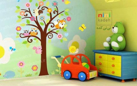 استیکر دیوار اتاق کودک
